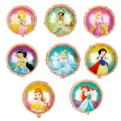Birthday Princess Decorations (Disney Princess Balloons Birthday Party Decorations Bouquet 8)