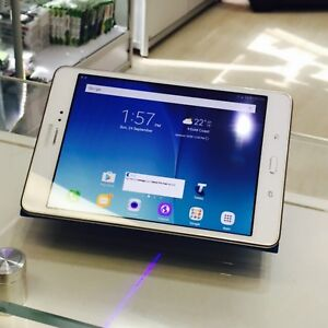 EXCELLENT GALAXY TAB A 16GB WHITE WI-FI/CELL CASE CHARGER INVOICE Surfers Paradise Gold Coast City Preview
