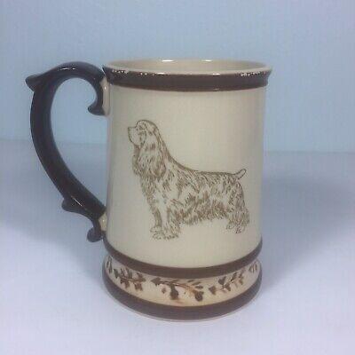 Vintage COCKER SPANIEL Dog Coffee Tea Cup MUG Breed Info Bottom 70's or 80's GG  Cocker Spaniel Mug Dog