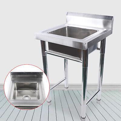 Commercial Restaurant Hand Wash Sink Square Kitchen Wash Sink 500 500 800mm
