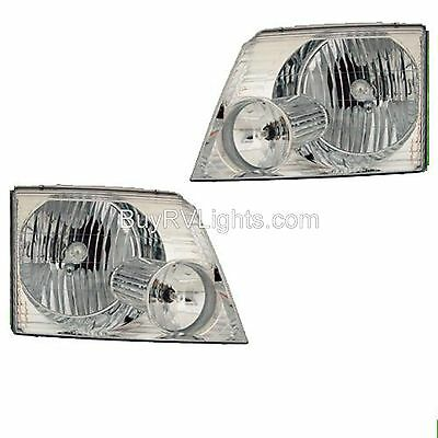 NEWMAR MOUNTAIN AIRE 40ft 43ft  2004 2005 2006 PAIR HEADLIGHTS HEAD LIGHTS RV
