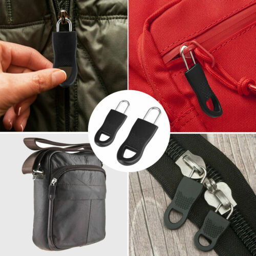 16Pcs Replacement Zipper Fixer Repair Pull Tap for Pants Luggage Boots Bags Closures & Connectors