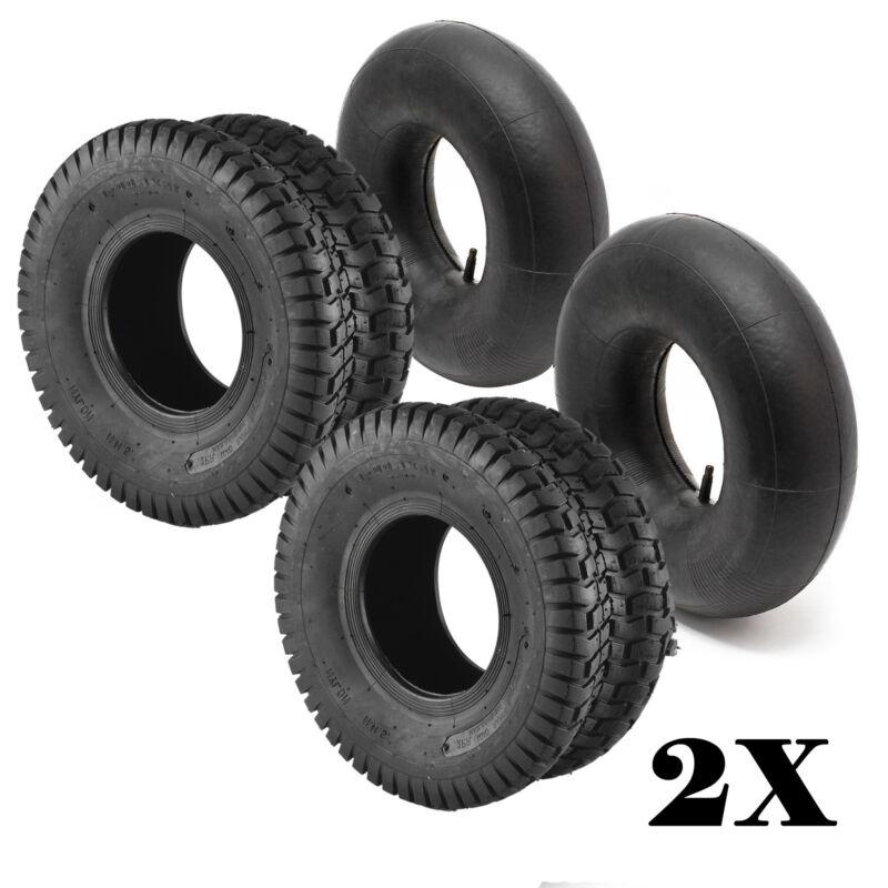 Reifen 15x6.00-6 gerades Ventil Schlauch f