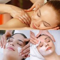 Facial and massage
