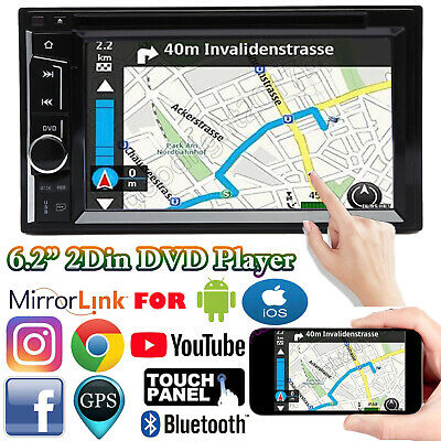 """For Ford Crown Victoria 2 DIN 6.2"""" Car Stereo Radio CD DVD Player USB Bluetooth"""