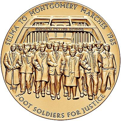 1965 Selma To Montgomery Voting Rights Marches Us Mint Medal