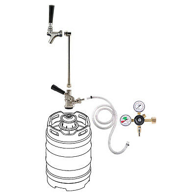 Rod Faucet Co2 System Wout Co2 Tank - Draft Beer Keg Party Picnic Pump Tap