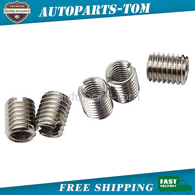 5 X Thread Adapters - M8 Male To M6 Female - Threaded Reducers