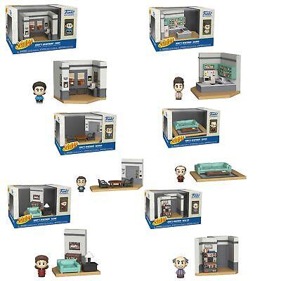 Seinfeld Funko Mini Moments Diorama: Complete Apartment Sets (6)