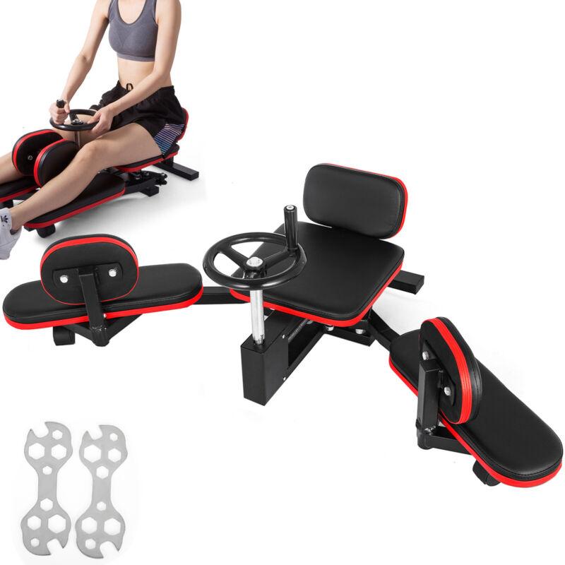 Leg Stretcher Machine Flexible W/Gear MMA Trainning Master Fitness Stretching