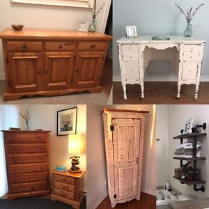 Rustic Cabinet / Shelving Unit / Commode