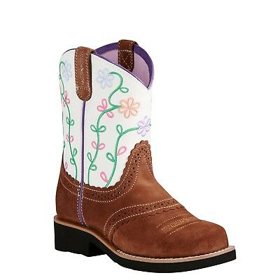Ariat® Children's Fatbaby Blossom Saddle Boots 10019948