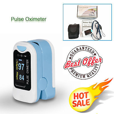 Usa Finger Fingertip Blood Oxygen Meter Spo2 Oled Pulse Heart Rate Monitor