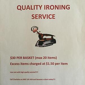 Ironing services Ballajura Swan Area Preview
