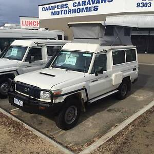 TOYOTA LANDCRUISER CHALLENGER POP TOP CAMPER Wangara Wanneroo Area Preview