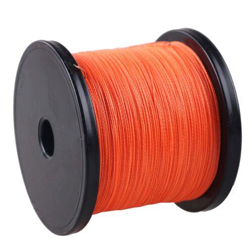 Power Braid 100M-2000M Multi-Color 100/%PE Dyneema Braided Fishing Line 10-300LB