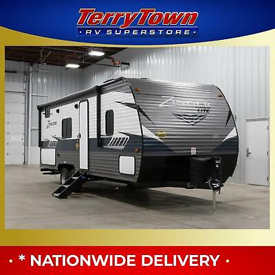 New 2019 Crossroads Zinger 252BH Bunkhouse Camper RV Travel Trailer Clearance