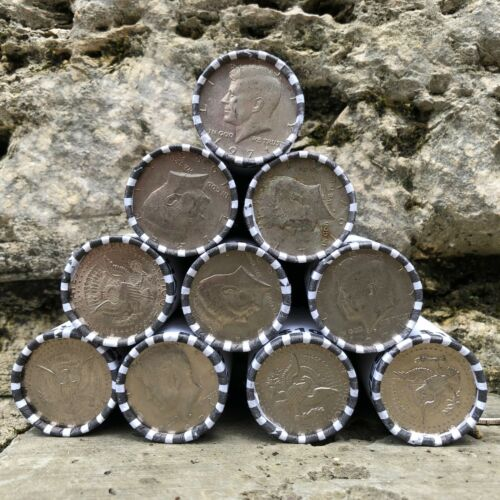 100 Dollars Of Unsearched/Banksealed Kennedy Half Dollars from Federal Reserve