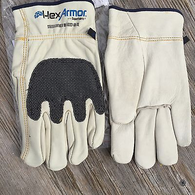 Gloves Hexarmor Cut Resistant Steelleather Iii 5033 Size 10 Xl 1 Pair 5033-xl