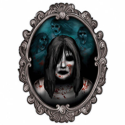Halloween Party Haunted House Mansion Mirror Ghost Portrait Wall Decoration