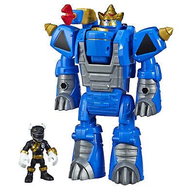 Playskool Heroes Power Rangers Morphin Zords Black Ranger and Rhino - Black Power Ranger