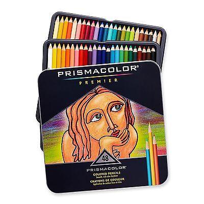 Prismacolor Premier Colored Pencils Soft Core 48-Count 48-Pack
