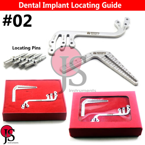 Dental Depth Gauge Parallel Surgical Implant Locator Drill Guide S-Type L-Type