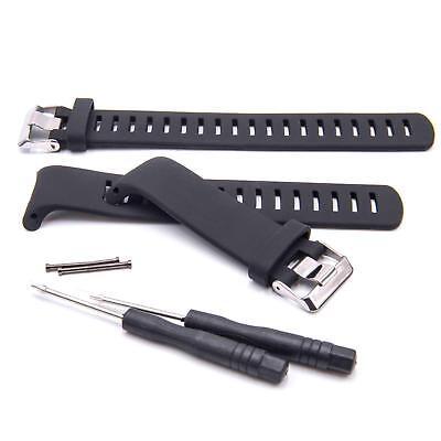 Smartwatch Fitness Armband TPE schwarz inkl. Werkzeug für Suunto D4, D4i