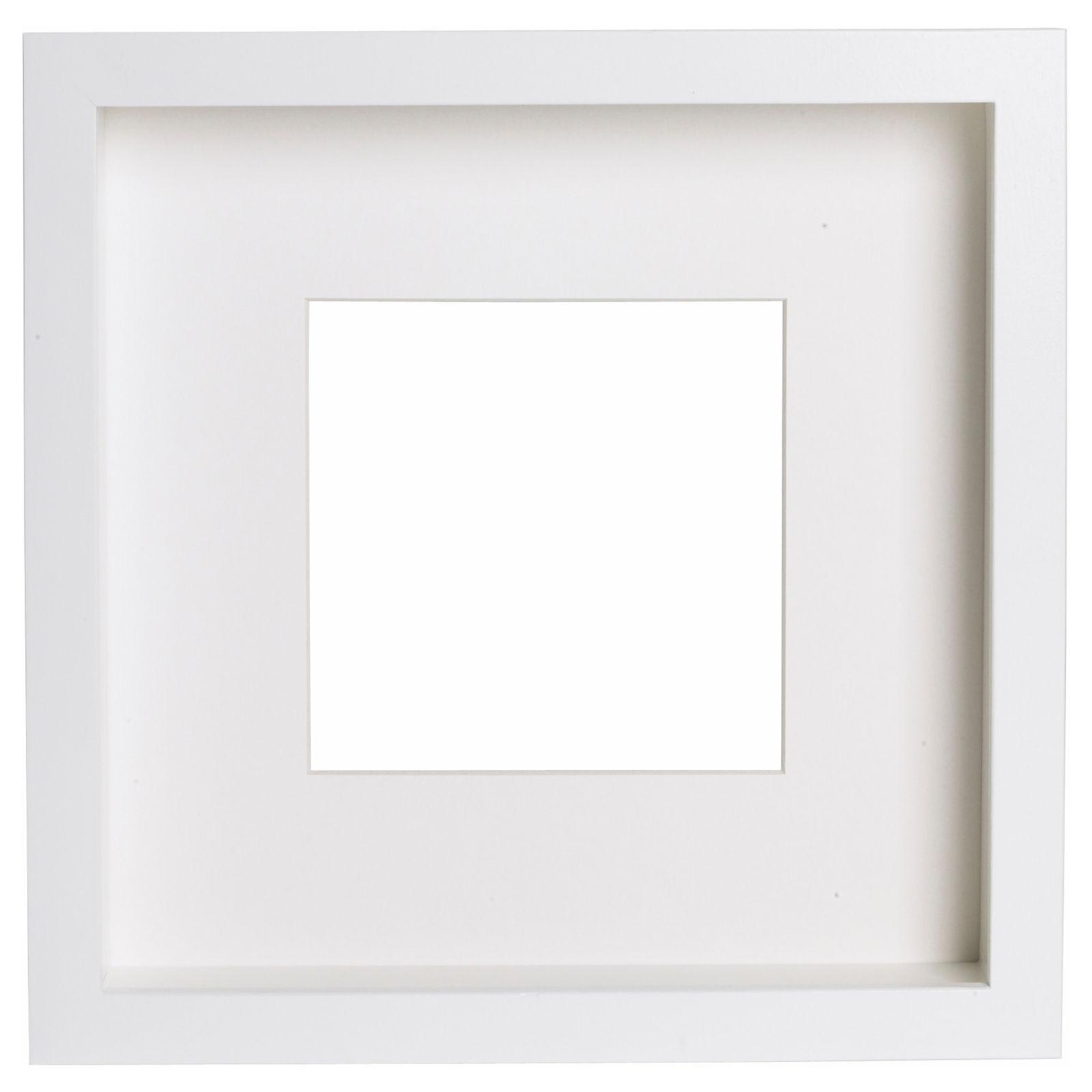 IKEA Ribba Rahmen In weiß (23x23x4 5cm) | eBay