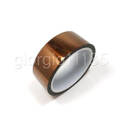 Us Stock High Temperature Heat Resistant Kapton Tape 35mm X 100ft Reprap Bga