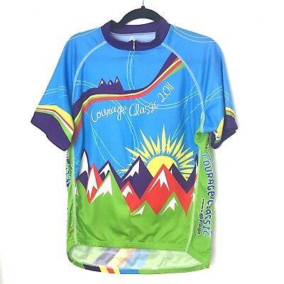 36bbcf52b PRIMAL WEAR Short Sleeve Cycling Bike Jersey Size XL Courage Classic 2011