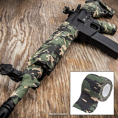ARMY Tactical Camo Form Protective Camouflage Wrap ACU First Aid Gun Hunt Camp
