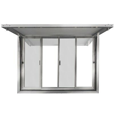 New Concession Stand Trailer Serving Window w/ Awning 53