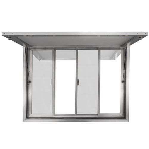"Concession Stand Trailer Serving Window Awning | 36"" W X 36"" H 