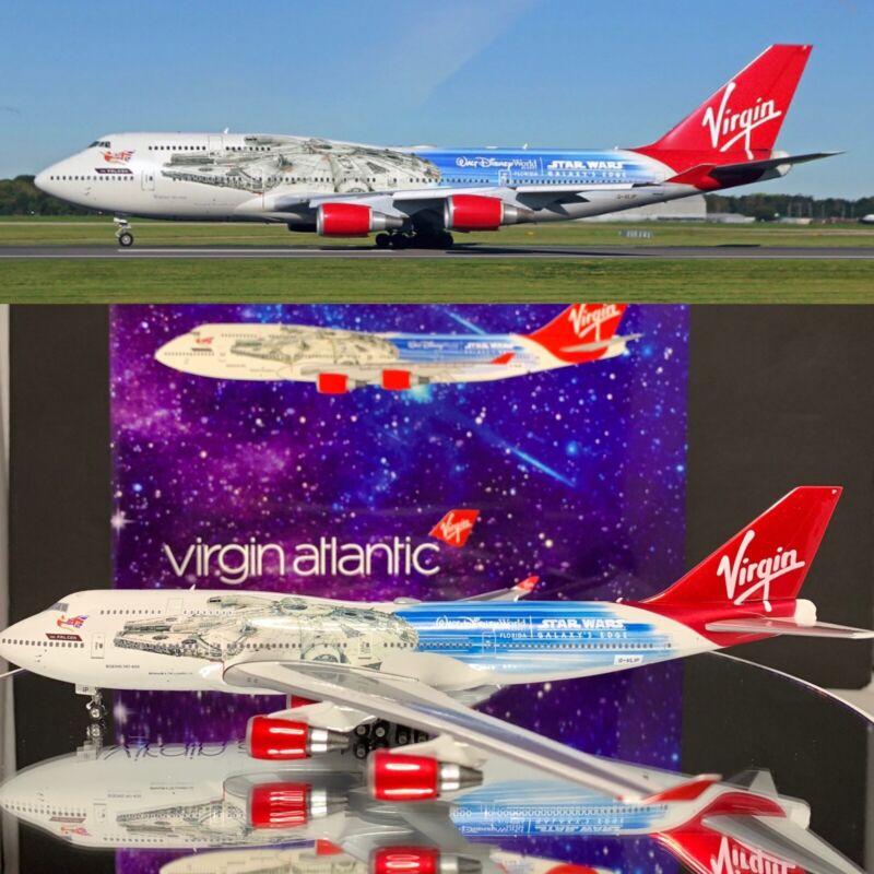 *SALE* Phoenix B747-400 Virgin Atlantic Star Wars Reg:G-VLIP 1:400 Scale 04322