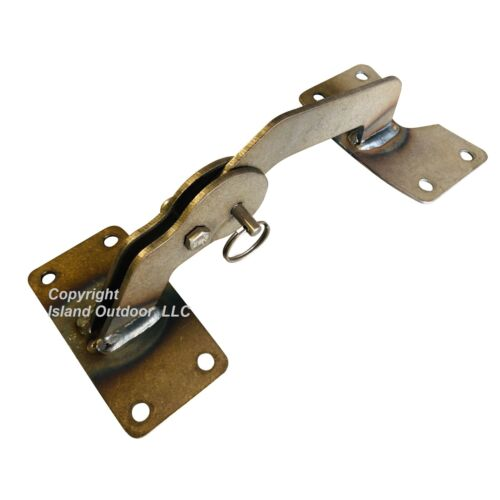 UDS Lid Hinge for 55 gallon Ugly Drum Smoker w/ Quick release & hardware - Steel