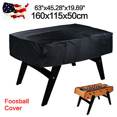 - 190T Polyester Foosball Billiard Table Cover Waterproof Outdoor Dust Protector