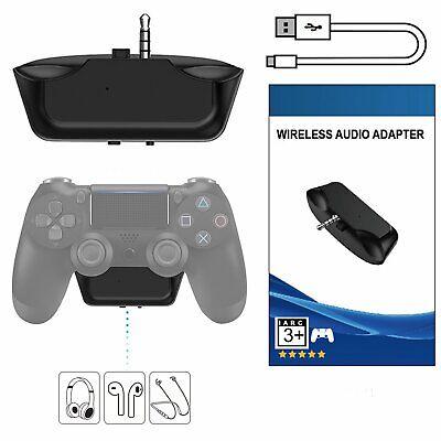Für PS4 Mikrofon Kopfhörer Bluetooth Adapter Audio Headset Empfänger 3.5mm Jack Bluetooth-kopfhörer Jack