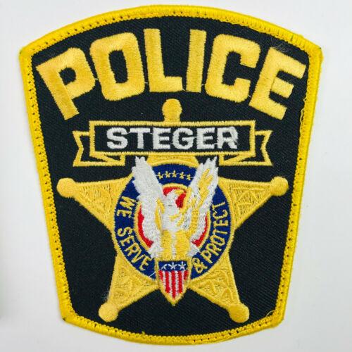 Steger Police Illinois Patch (A4)