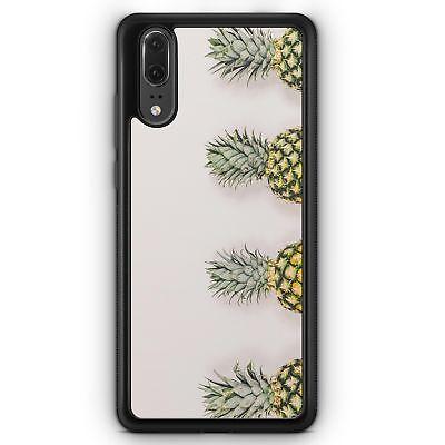 Tropical-motiv (Huawei P20 SILIKON Hülle Ananas Foto Tropical Motiv Design Tropisch Sommer Schö)