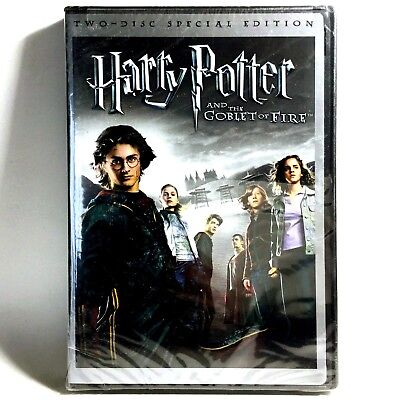 Harry Potter and the Goblet of Fire (2-Disc DVD, 2005, Widescreen) Brand New !
