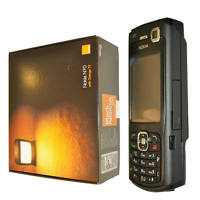 New Nokia N70-1 22MB Black Music Edition Unlocked Made In Finland 3G OEM (Nokia N70 Music Edition)