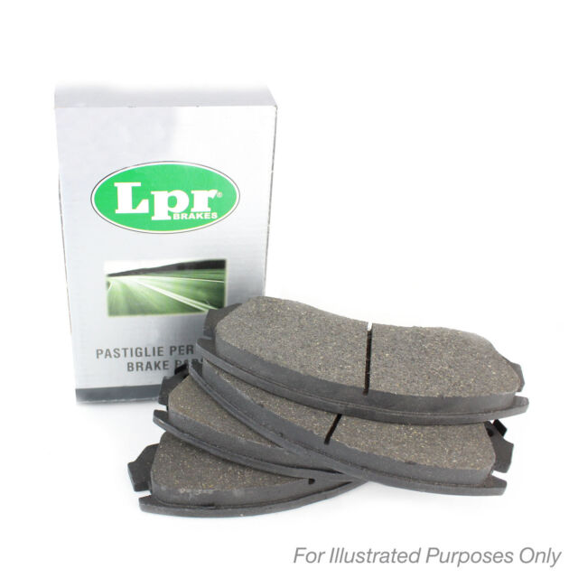 From Jun 97 LPR Front Brake Pads Genuine OE Quality Service Replacement Part