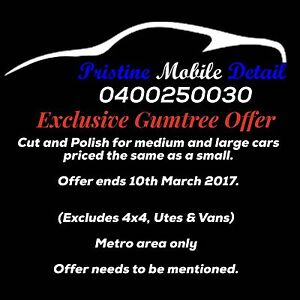 Mobile Car Detailer Modbury North Tea Tree Gully Area Preview
