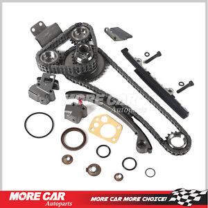 Engine Timing Chain Kit Fits 91-99 2.4L Nissan 240SX KA24DE 16V DOHC