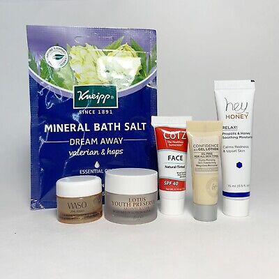 LOT Skincare Sample It Cosmetics Shiseido Hey Honey Kneipp Fresh Cotz