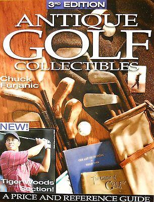 Book - antike Golf - Sammelobjekte, Tiger Woods Preiskatalog  US-Ausgabe  NEU