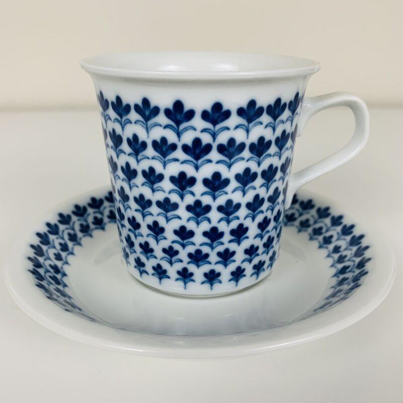 Arabia Finland MERVI Coffee Cup and Saucer VERY RARE Raija Uosikkinen