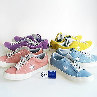 CONVERSE ONE STAR OX GOLF LE FLEUR TYLER CREATOR WANG 5-12 Yellow Blue Pink Peac