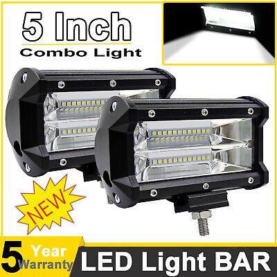 5inch 720W LED Work Light Car Spot Bar Off road Fog Lamp 4WD UTE ATV SUV Truck